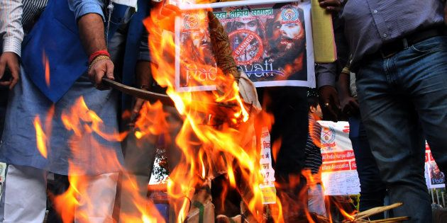 Akhil Bhartiya Shakti Samaj launched a signature campaign against the release of the upcoming Bollywood...