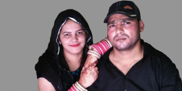 Surabhi Chauhan with her husband Rahat