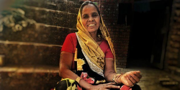 While Dalits Around Her Vote For The BJP, This Woman Is Standing Her Ground In