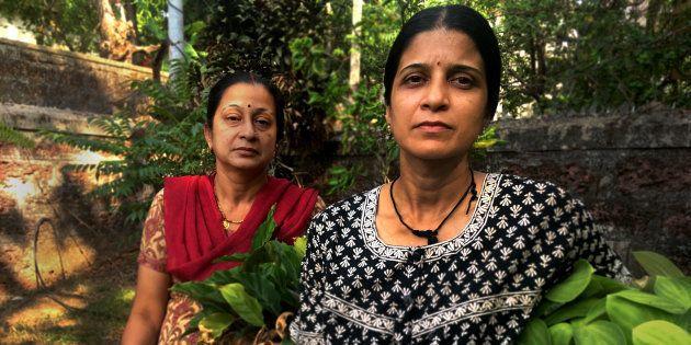 Harsha Baliga and Anuradha Baliga at their home in Mangalore in May,