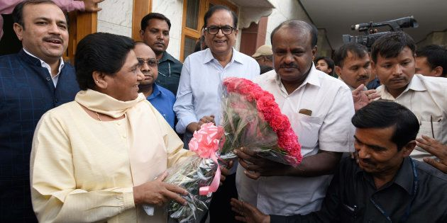 HD Kumaraswamy Takes Oath As Chief Minister Of Karnataka Amid Massive Show Of Unity By Opposition
