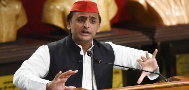 Akhilesh Yadav says 23,000-crore Purvanchal Express was the brainchild of the Samajwadi Party at a press...