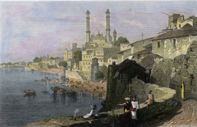 Aurangzeb's Mosque at Benares, India, 19th