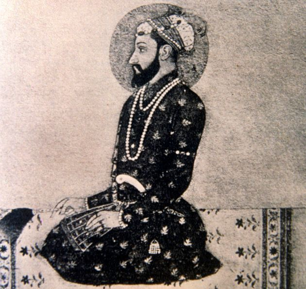 Illustration of Aurangzeb from Manucci's Travels ,British Council collection,
