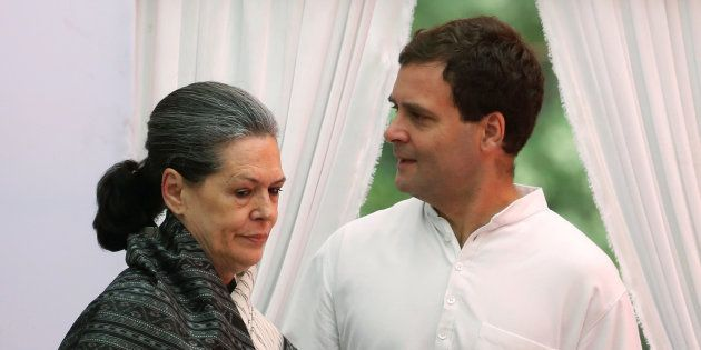 A file photo of UPA leaders Sonia Gandhi and Rahul