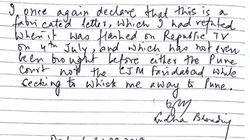 Bhima Koregaon Raids: Read Sudha Bharadwaj's Full Letter Accusing The Maharashtra Police Of 'Fabricating'