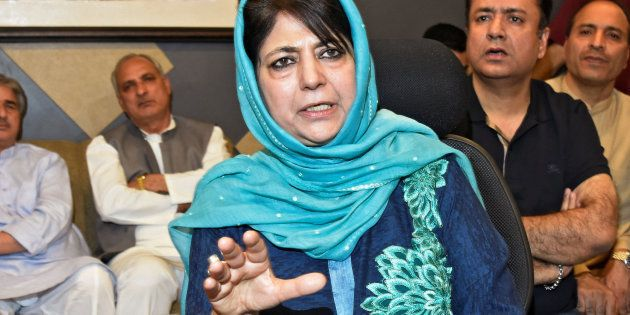 A file photo of Mehbooba Mufti, former Jammu and Kashmir chief