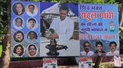 Rahul Gandhi's 'Shiv Bhakt' Posters Plastered In Madhya Pradesh, Irked BJP Cries 'Soft