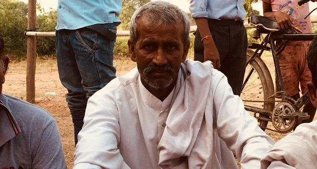 Harish Singh, a local farmer from the Rajput community, attended Amit Jani's rally in Mathura on October...