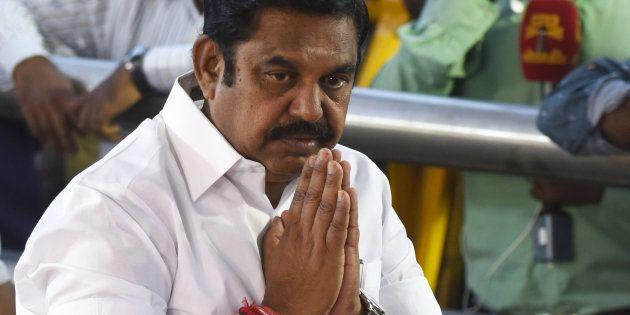 A file photo of Tamil Nadu chief minister Edappadi K.