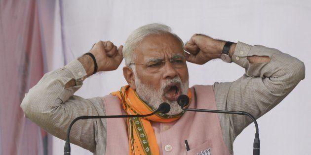Prime Minister Narendra Modi in a file