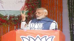 Modi In Chhattisgarh: PM Dares Congress To Make An 'Outsider' Party
