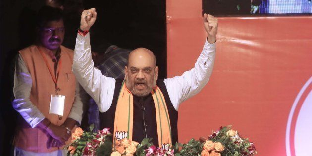 BJP Chief Amit Shah in a file