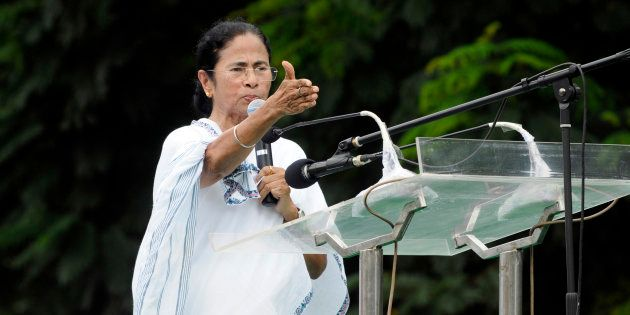 A file photo of West Bengal Chief Minister Mamata