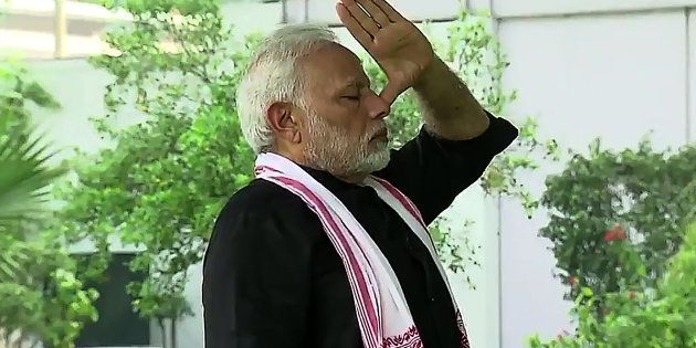 File Photo of Indian Prime Minister Narendra Modi. (Photo: AFP/Getty