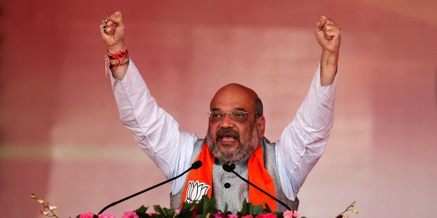 Amit Shah, President of the BJP, in a file