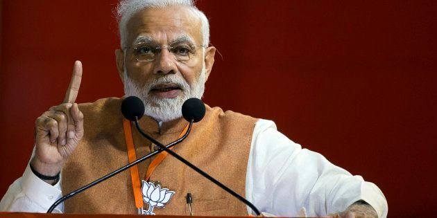 A file photo of Prime Minister Narendra