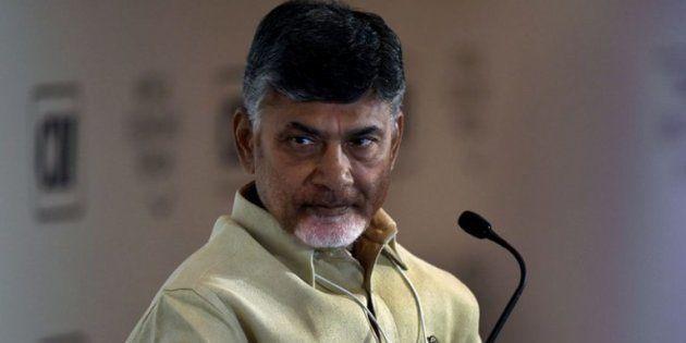Andhra Pradesh Chief Minister and TDP chief N Chandrababu
