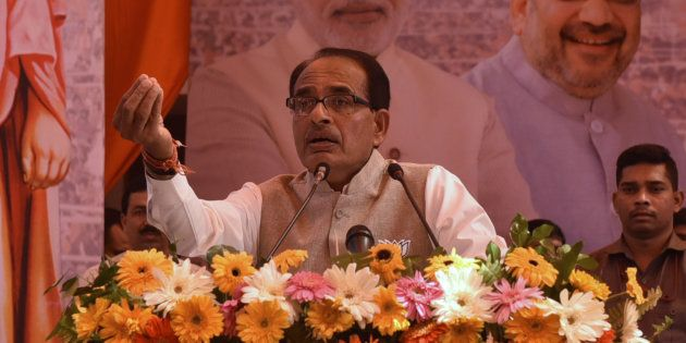 Madhya Pradesh Chief Minister Shivraj Singh in a file