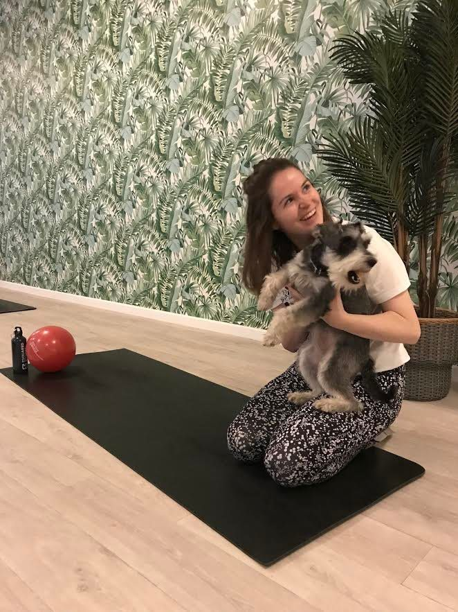 DOWNWARD DOGS: I Went To Puppy Pilates And It Was Everything I Hoped It Would