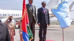 Le président érythréen rend visite à son homologue somalien, une