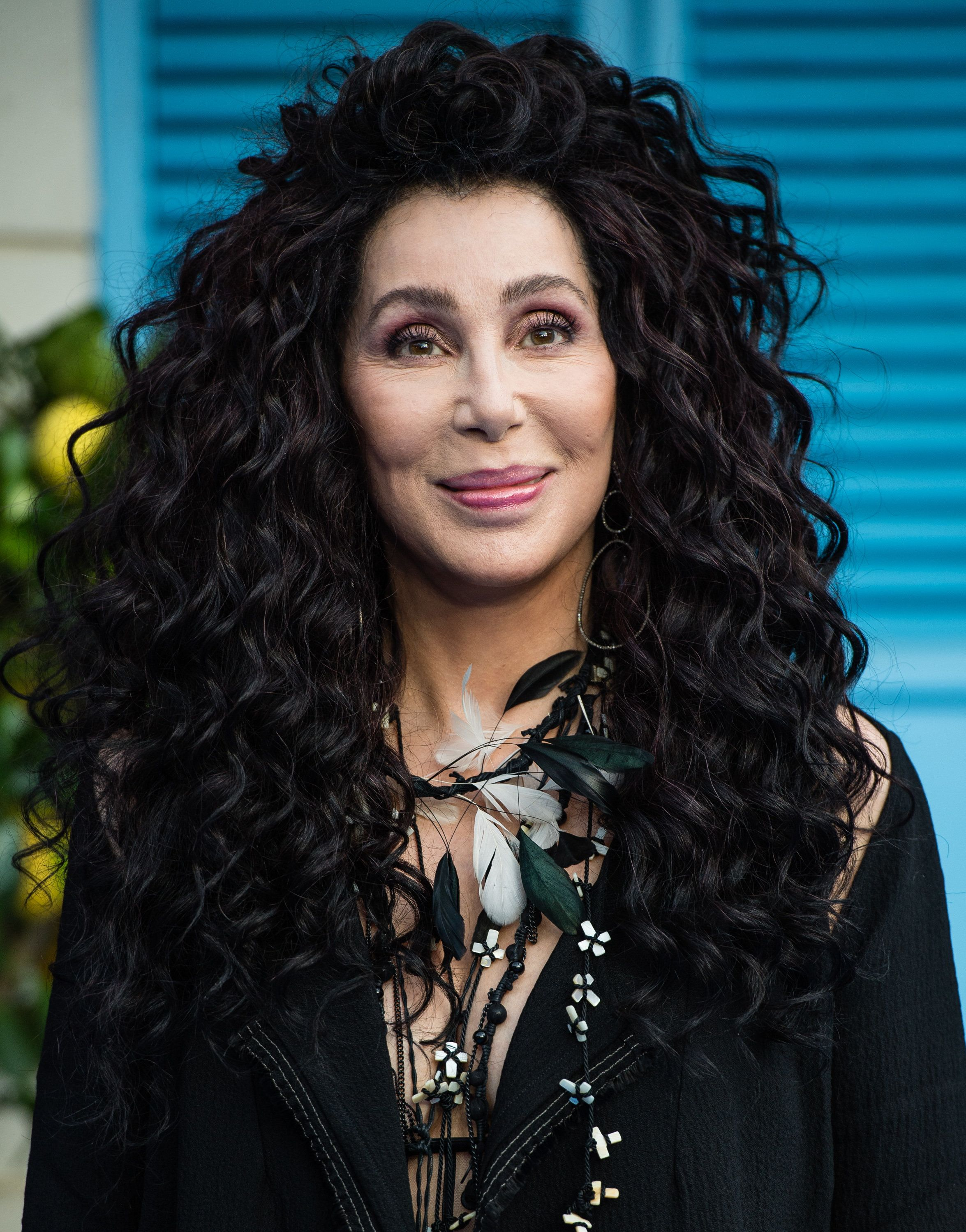 LONDON, ENGLAND - JULY 16:  Cher attends the UK Premiere of 'Mamma Mia! Here We Go Again' at Eventim Apollo on July 16, 2018 in London, England.  (Photo by Samir Hussein/WireImage)