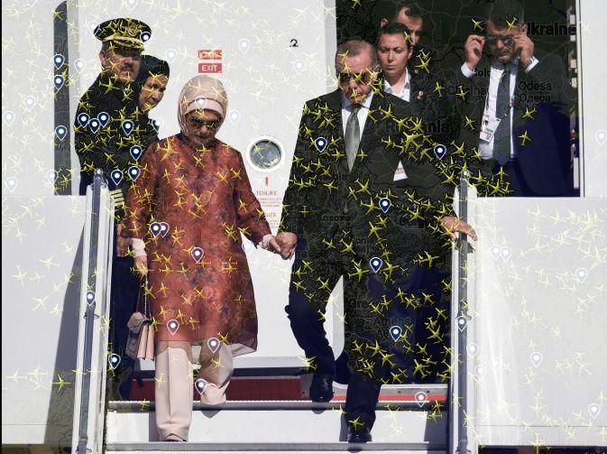 Erdogans Entführungs-Maschinen: Flugrouten zeigen gefährlichen