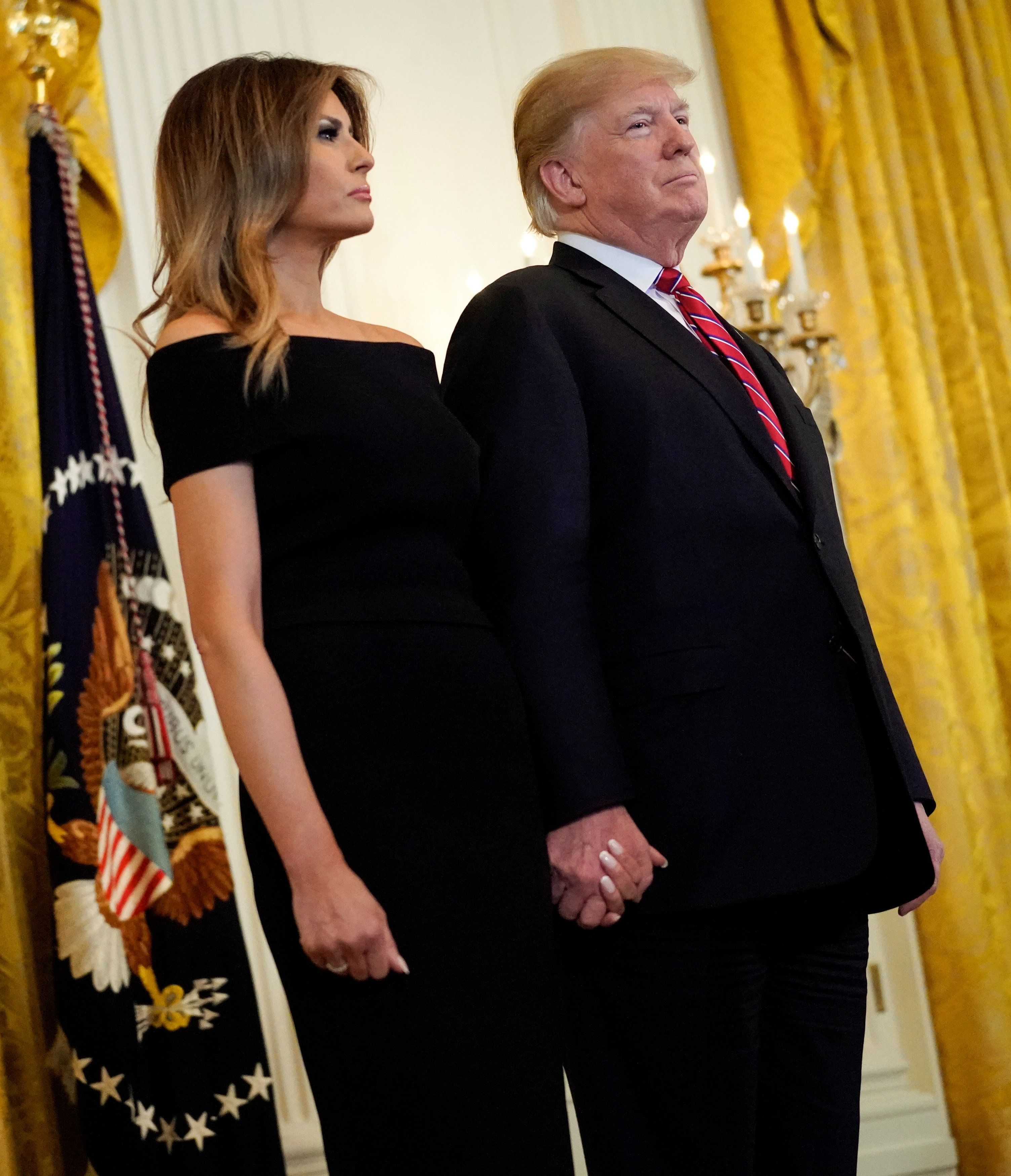Melania Trump Calls Journalists 'Opportunists' Piggybacking on Husband's