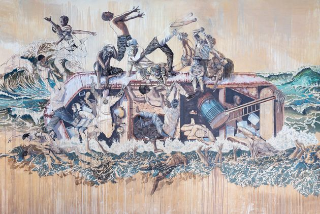 Mare Nostrum, 2018 - Acrylique sur toile - 491 x 716