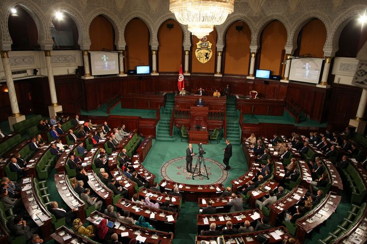 The Tunisian Parliament in October 2017.