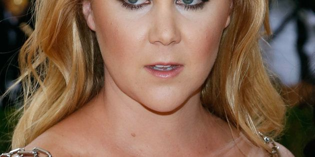 NEW YORK, NY - MAY 02:  Amy Schumer attends 'Manus x Machina: Fashion in an Age of Technology', the 2016 Costume Institute Gala at the Metropolitan Museum of Art on May 02, 2016 in New York, New York.  (Photo by Taylor Hill/FilmMagic)