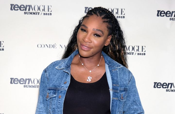 Tennis player Serena Williams attends the Teen Vogue Summit at 72andSunny  on Dec. 1,