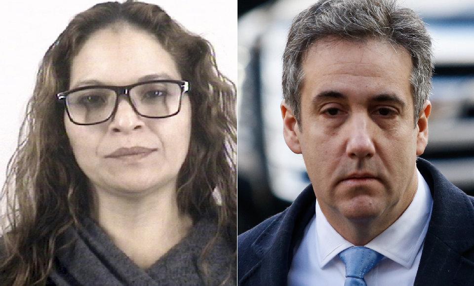 Rosa Ortega, left, and Michael Cohen.