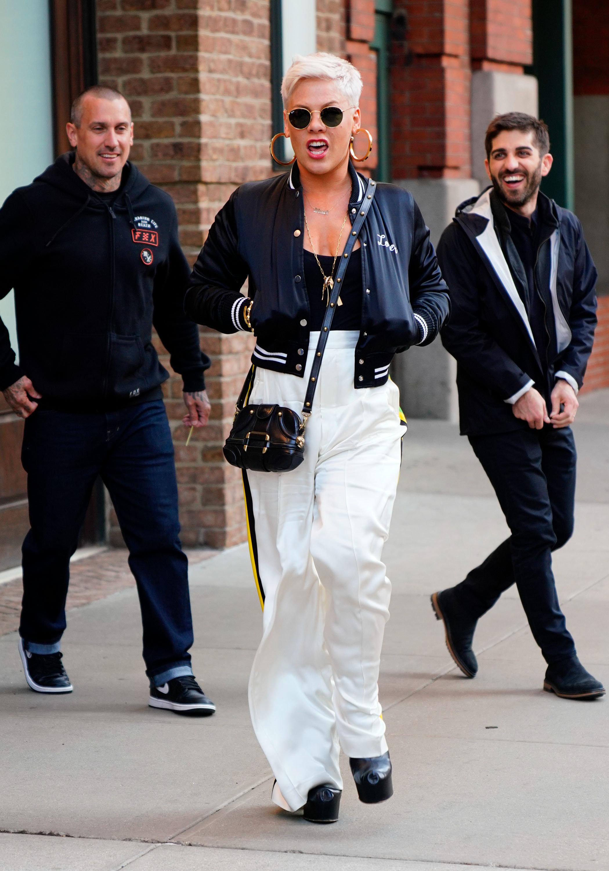 Pink Goes In On Stranger Slamming Husband Carey Hart's Parenting