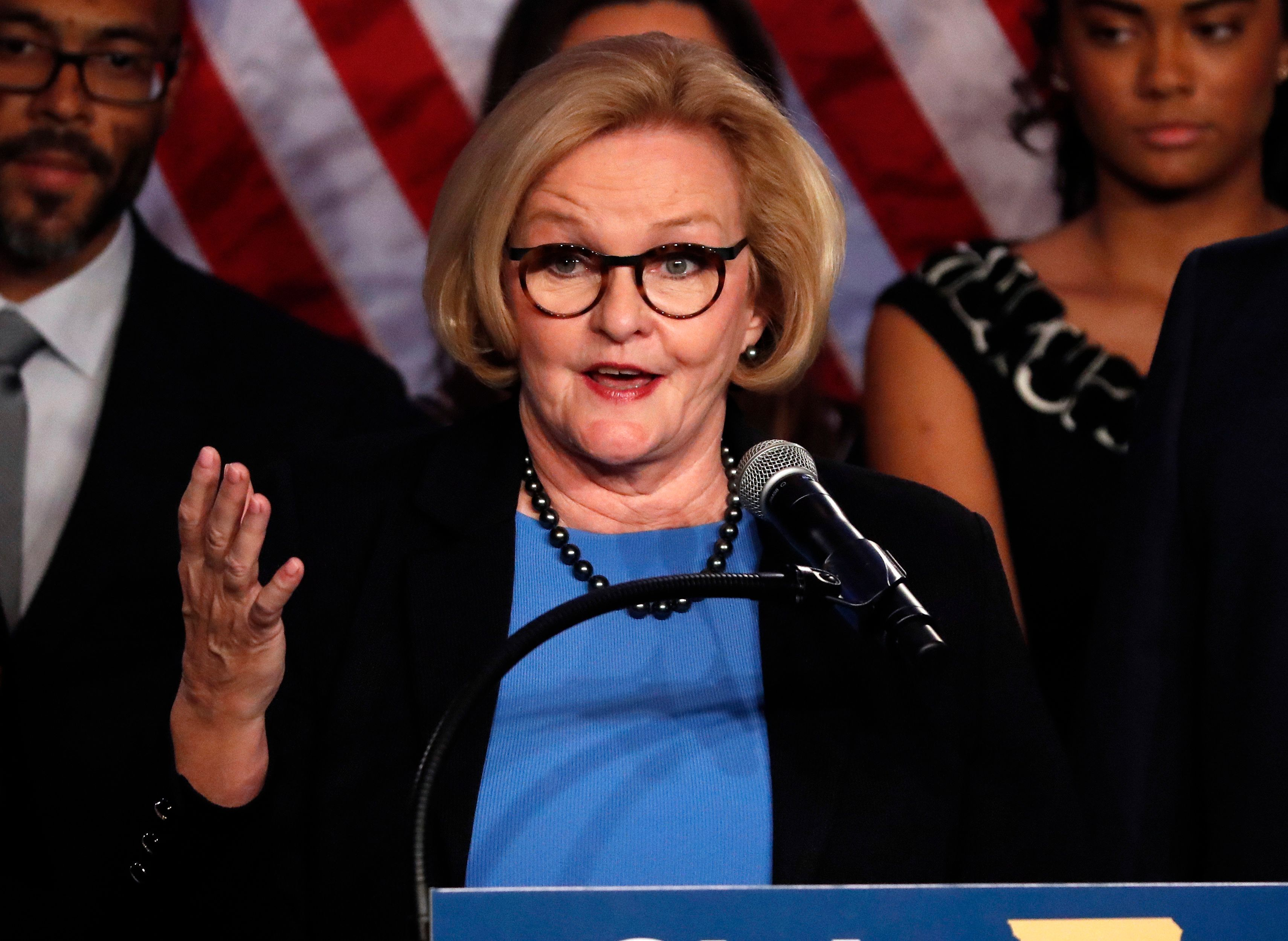 Sen. Claire McCaskill (D-Mo.) said she believes history will judge members of the Republican Party who don't speak up about the dishonesty of President Donald Trump.