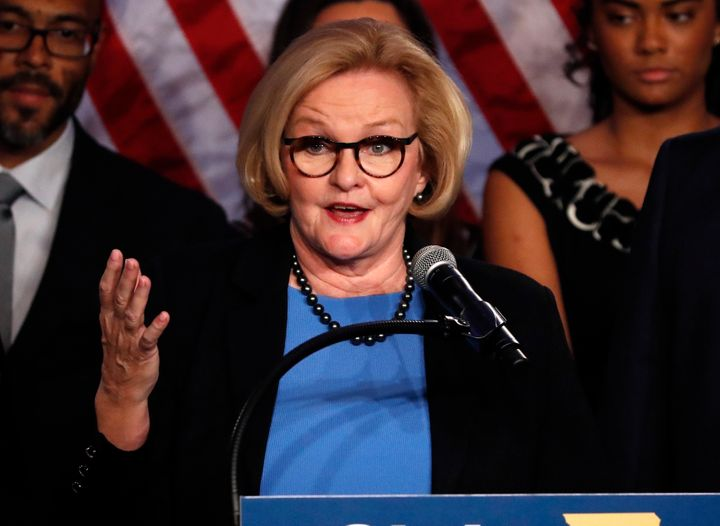 Sen. Claire McCaskill (D-Mo.) said she believes history will judge members of the Republican Party who don't speak up about t