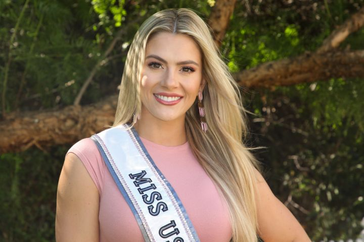 Miss USA 2018, Sarah Rose Summers, at Universal Studios Hollywood on Oct. 15. She apologized on Dec. 13 after apparently