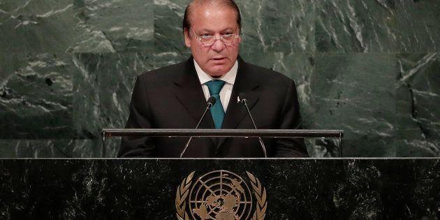 Nawaz Sharif, Prime Minister of Pakistan, the at U.N. headquarters in September 2016. (AP Photo/Julie
