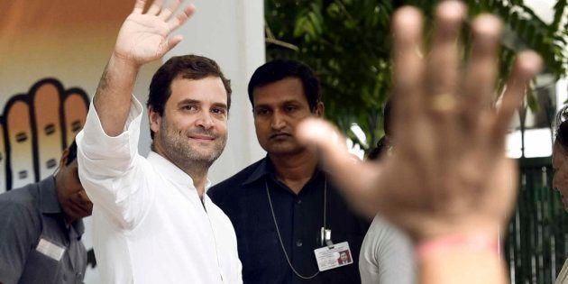 Congress Vice President Rahul Gandhi. (Photo by Mohd Zakir/Hindustan Times via Getty