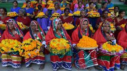 Telangana's Bathukamma Festival Enters Guinness Book Of World
