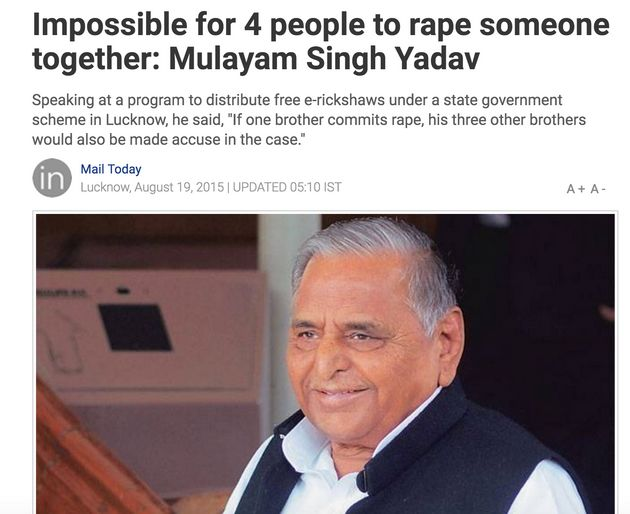 This Is What's Wrong With How The Indian News Reports Women's