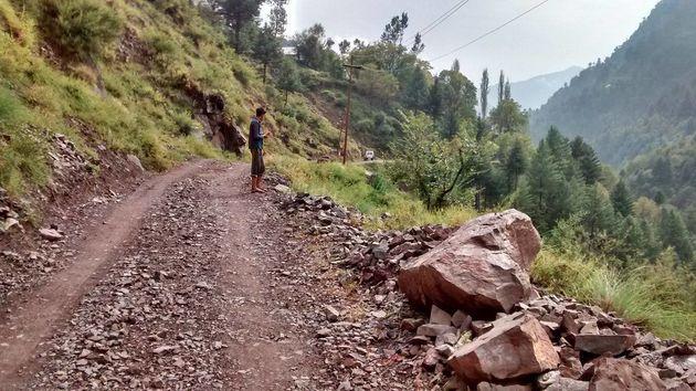 Road entering