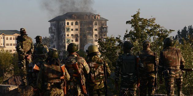 Pampore Gunbattle Ends After 56 Hours, Two Militants