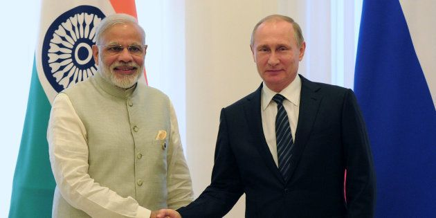 India, Russia To Sign Multi-Billion Dollar Deal For Air Defence Missile