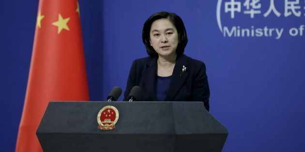 Hua Chunying, spokeswoman of China's Foreign