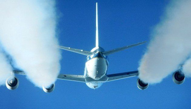 Aviation represents 2 per cent of global emissions but is expected to grow to 3 per cent by