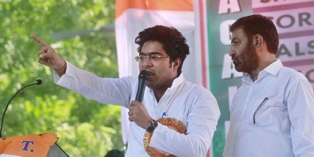 TMC Lawmaker Abhishek Banerjee Injured In Road
