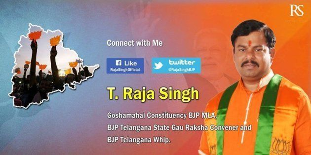 How The BJP Let MLA Raja Singh Get Away With Threats To Burn Theatres Screening 'Ae Dil...' In