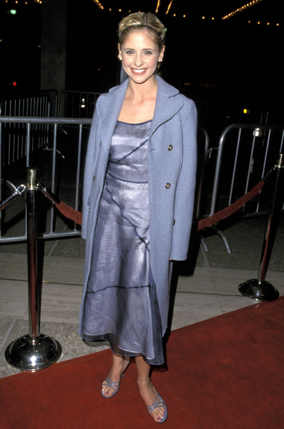 Sarah Michelle Gellar at the 1999 premiere of