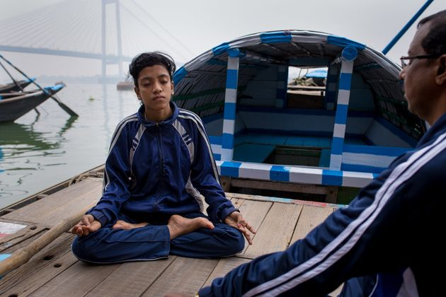 Training for Ayesha includes meditation on the river